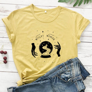 Witchy Woman Tee | Wiccan Clothing - greenwitchcreations