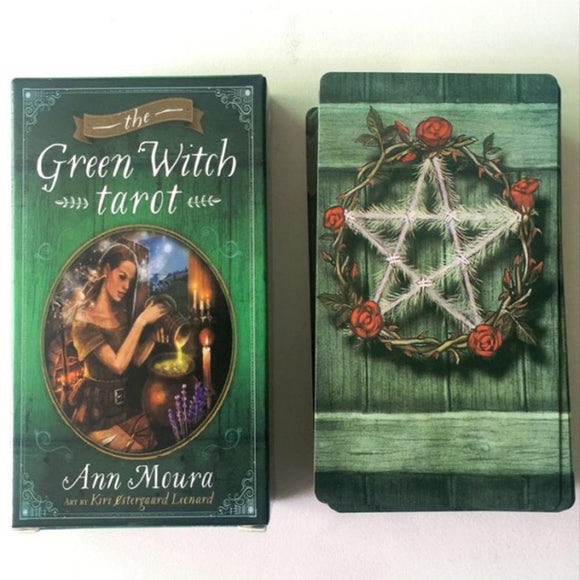 The Green Witch Tarot Deck - greenwitchcreations