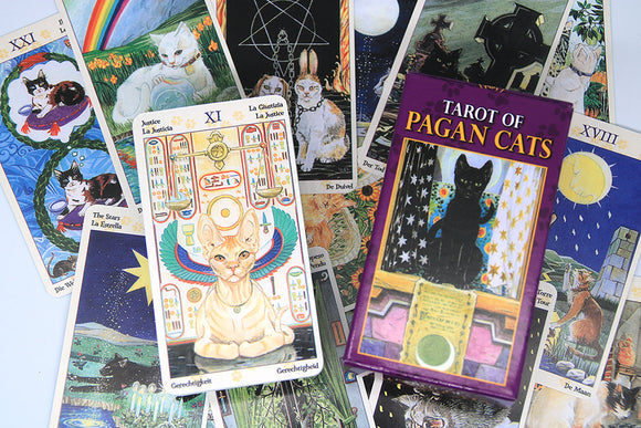 Tarot of Pagan Cats For Sale - greenwitchcreations