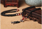 Tibetan Mala Prayer Necklaces | Prayer Beads | Green Witch Creations - greenwitchcreations