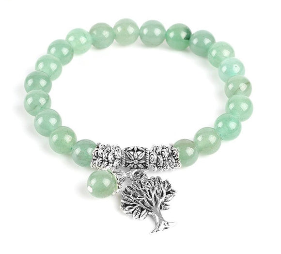 Green Aventurine Bracelets | Handmade Jewelry | Green Witch Creations - greenwitchcreations