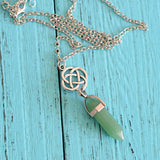 Crystal Pendant Necklaces | Wiccan Jewelry | Green Witch Creations - greenwitchcreations