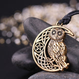 Owl Pentacle Necklaces | Wiccan Jewelry | Green Witch Creations - greenwitchcreations