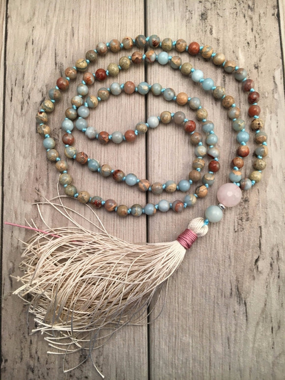Mala Prayer Necklace | Mala Prayer Beads | Green Witch Creations - greenwitchcreations