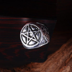 Mens Silver Wiccan Rings | Green Witch Creations - greenwitchcreations