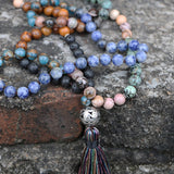 Stone Mala Prayer Necklaces | Prayer Beads | Green Witch Creations - greenwitchcreations