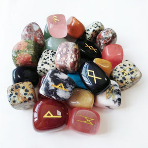 Mixed Crystal Runes | Green Witch Creations - greenwitchcreations