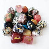 Mixed Crystal Runes - greenwitchcreations