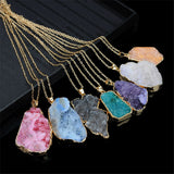 Druzy Crystal Necklaces | Jewelry | Green Witch Creations - greenwitchcreations