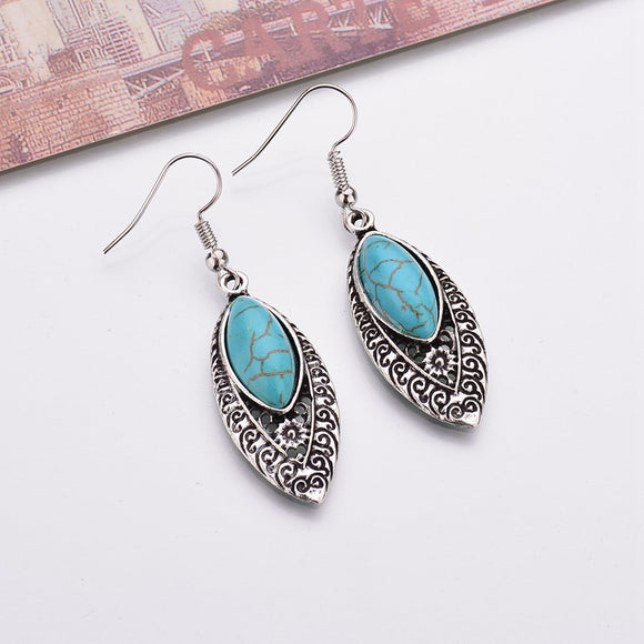 Turquoise Earrings - greenwitchcreations