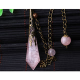 Rose Quartz Pendulums | Green Witch Creations - greenwitchcreations