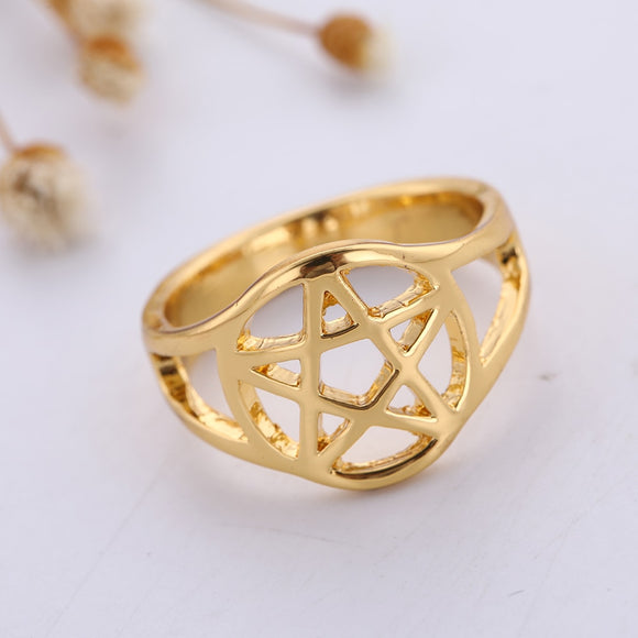 Pentacle Rings | Wiccan Jewelry | Green Witch Creations - greenwitchcreations