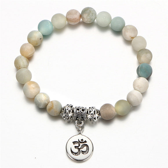 Buy Amazonite Charm Stone Bracelets | Bracelets | Green Witch Creations - greenwitchcreations