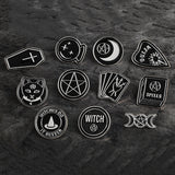 Wiccan Pins | Enamel Pins | Green Witch Creations - greenwitchcreations