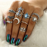 Trendy Ring Set - greenwitchcreations