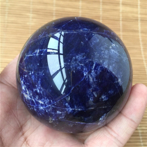 Sodalite Sphere Crystal Balls | Green Witch Creations - greenwitchcreations