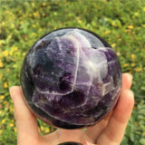 Amethyst Crystal Ball Sphere | Crystals & Stones | Green Witch Creations - greenwitchcreations