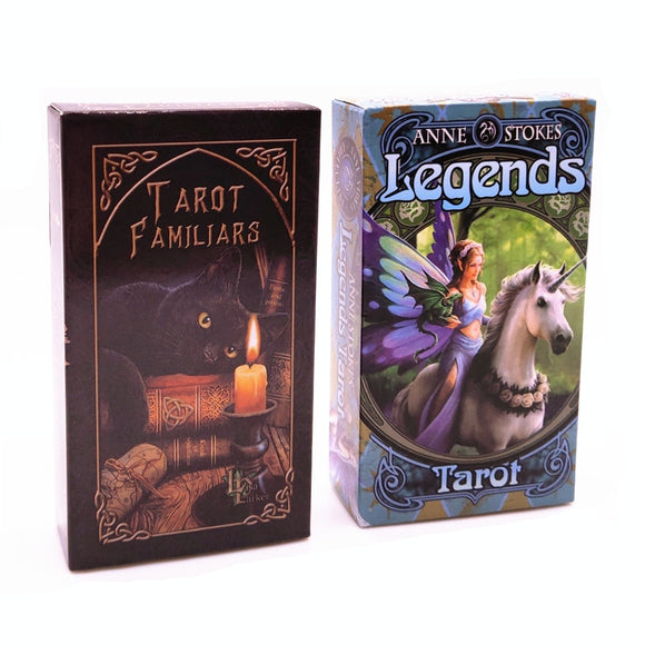 Tarot Familars & Legends Tarot Cards | Green Witch Creations - greenwitchcreations