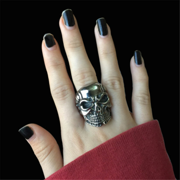 Skull Rings - greenwitchcreations
