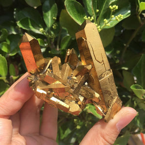 Gold Crystals | Green Witch Creations - greenwitchcreations