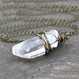 Crystal Necklaces - greenwitchcreations