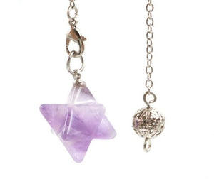 Merkaba Crystal Pendulums | Green Witch Creations - greenwitchcreations