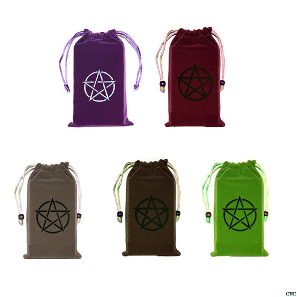 Pentacle Tarot Bags | Wiccan Supplies | Green Witch Creations - greenwitchcreations