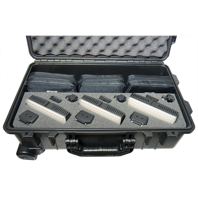 Datavision  LG-B160C-RKBC 3 Bi-Colour Light Reporter Kit includes B160C Lights (x3), Stands (x3) and Carrying Case