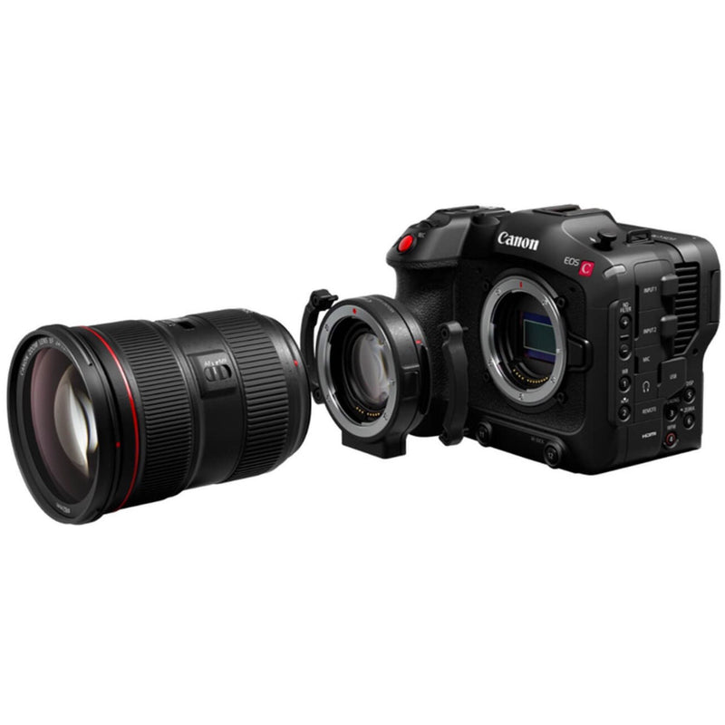 Canon EOS C70 & Canon EF-RF 0.71X mount adapter