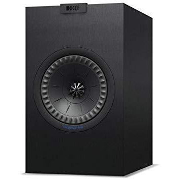 KEF Q350 Bookshelf Speaker, Satin Black (Pair)
