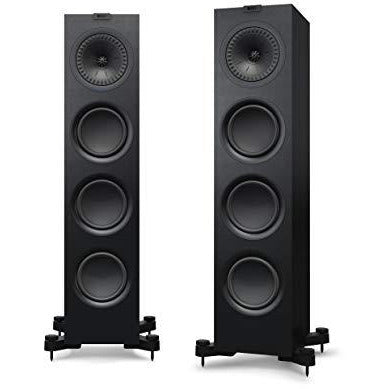 KEF Q750 Floorstanding Speaker, Satin Black (Pair)