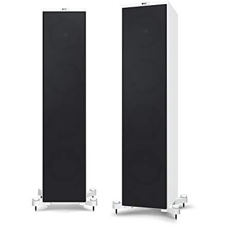 KEF Q950 Floorstanding Speaker, Satin White (Pair)