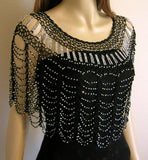 Beaded Scallop Capes (Style# 409)