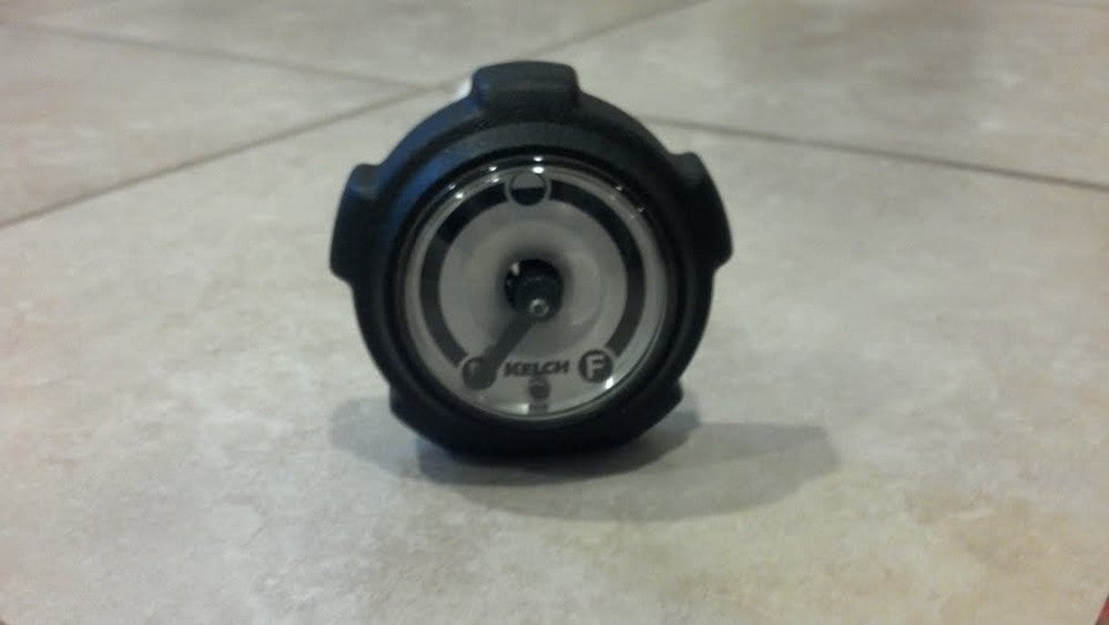 Kelch Gas Cap with gauge, vented, 13.5