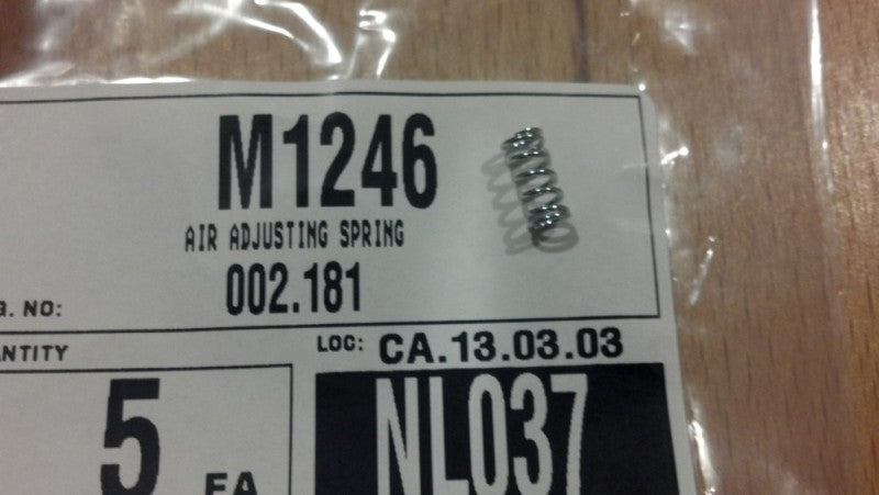 Mikuni Carb Air Adjuster Spring