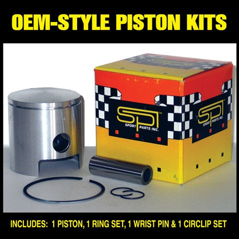 SPI Piston Kit for 340cc Trailfire, Spitfire, Snowfire, Inviter, Invader, Drifter