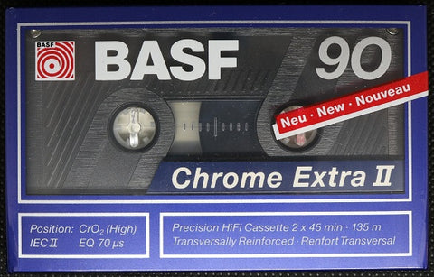 BASF Chrome Extra II - 1989 - US