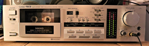 Nikko ND-1000 3-Head Cassette Deck