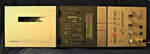 Pioneer CT-8R 3-Head Cassette Deck