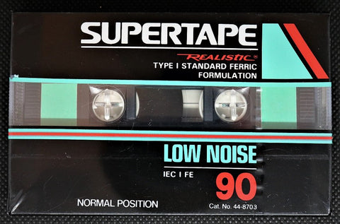 REALISTIC SUPERTAPE Low Noise - 1992 - US