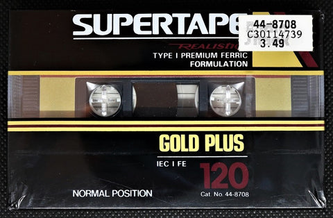 REALISTIC SUPERTAPE Gold Plus - 1992 - US