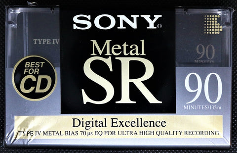 Sony Metal SR - 1992 - US