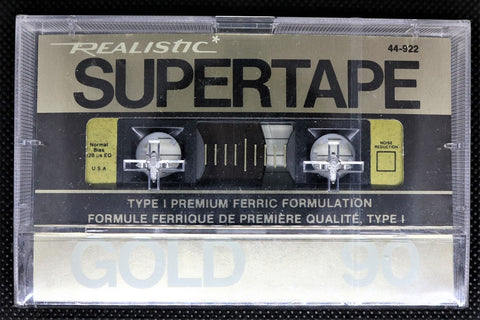 REALISTIC SUPERTAPE GOLD - 1986 - US