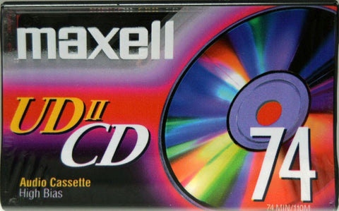 Maxell UDII CD - 2002 - US