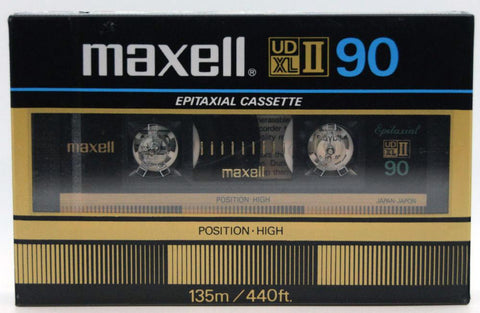 Maxell UD XLII Cassette Front
