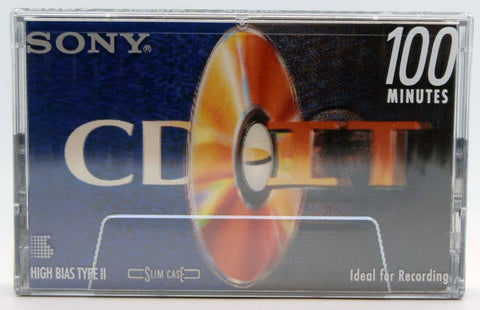 SONY CD-IT 2 Cassette Front