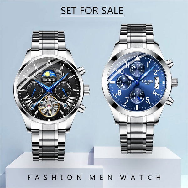 The luxury mechanical HAIQIN Men's watch