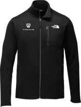Load image into Gallery viewer, North Face Full-Zip Fleece Black Logo Only