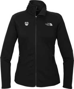 North Face Full-Zip Fleece Black Logo Only