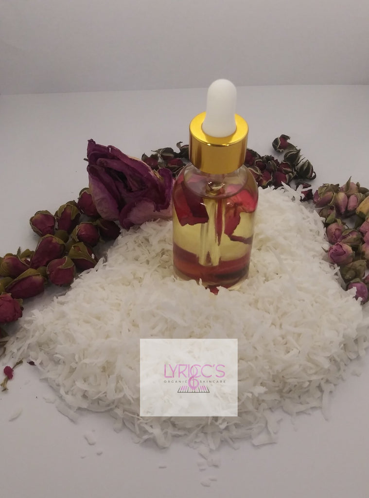 Rose Infused Oil - Lyricc's Organic Skincare
